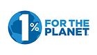 Homepage One percent for the planet logo