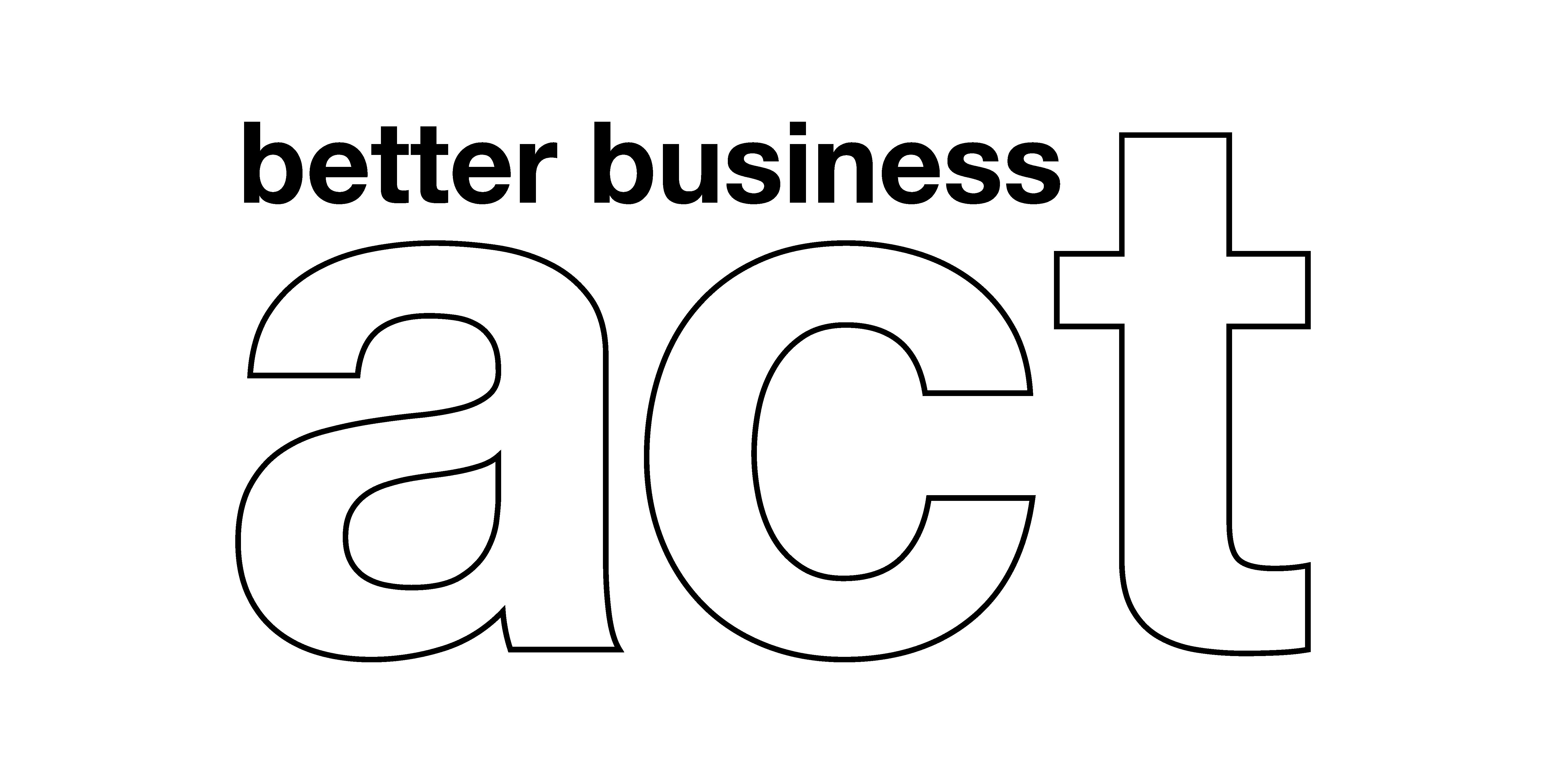 Black BBA Logo